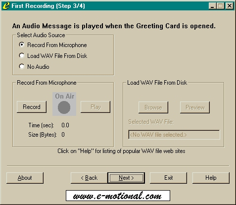 E Motional Software Greeting Card Creator